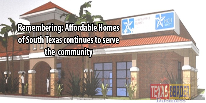 Affordable homes of south texas continues to serve the for Affordable home builders texas