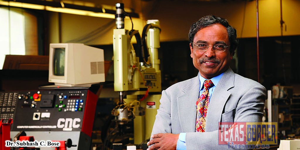 Dr. Subhash C. Bose has placed many students with companies like Lockheed Martin, Johnson Controls, 3M, and Intel Corporation to name just a few. Photo- Pollux Castor, Inc.