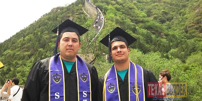 Graduation at the Great Wall of China - Texas Border Business