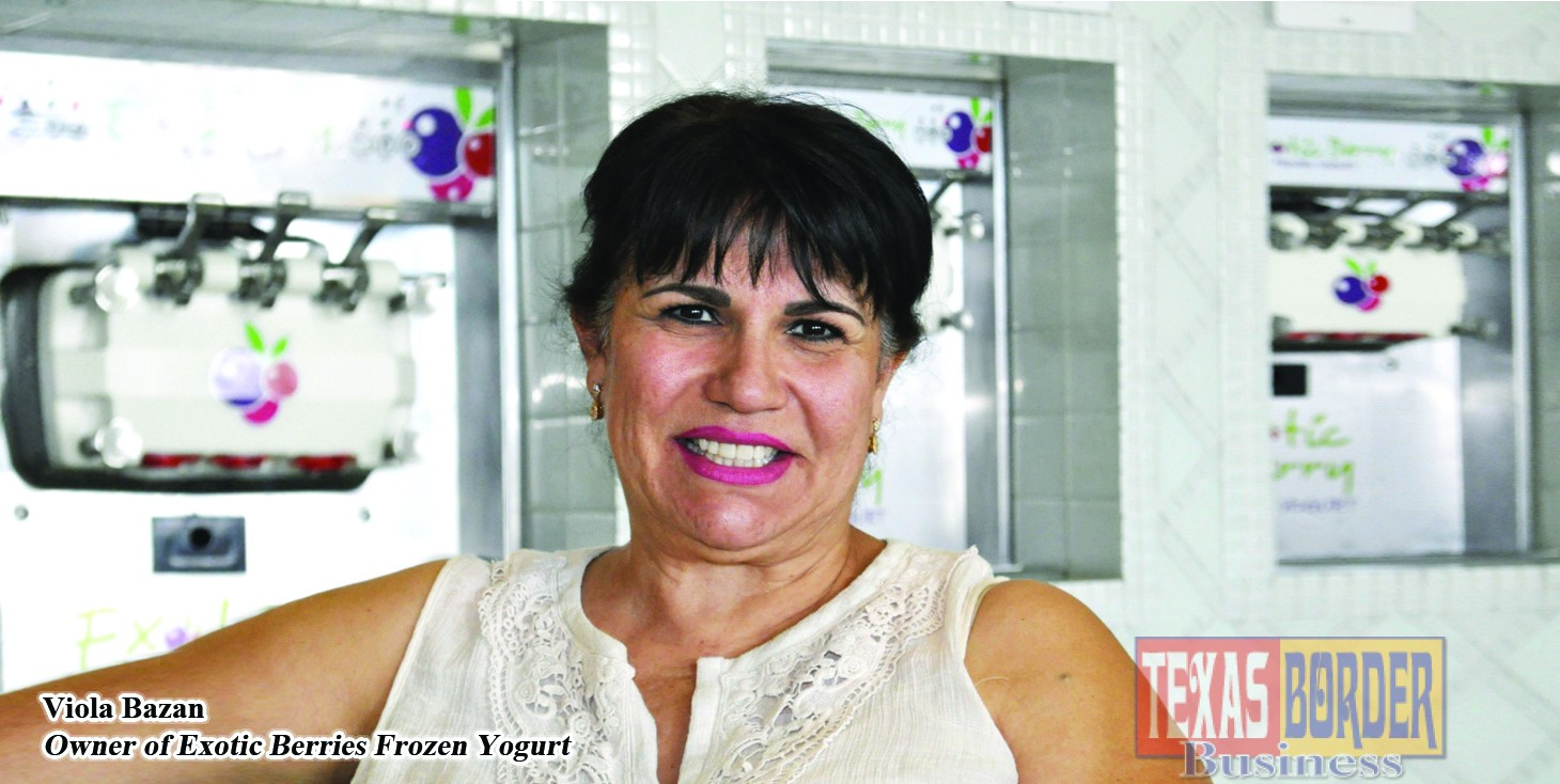Viola Bazan created Exotic Berries Frozen Yogurt, A Valley Success