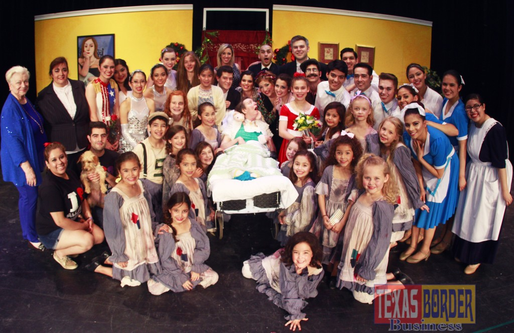 Annie Cast, Laurin and Melba Huber