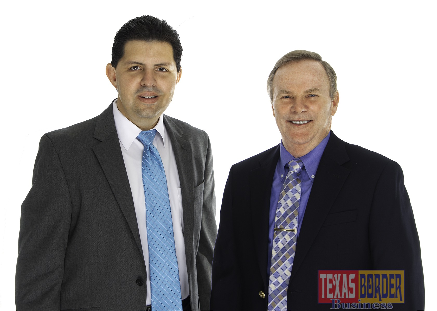 Pictured above, is Luis Cantu, Vice President for International Business for the McAllen Chamber of Commerce and City of McAllen Mayor, Jim Daring.