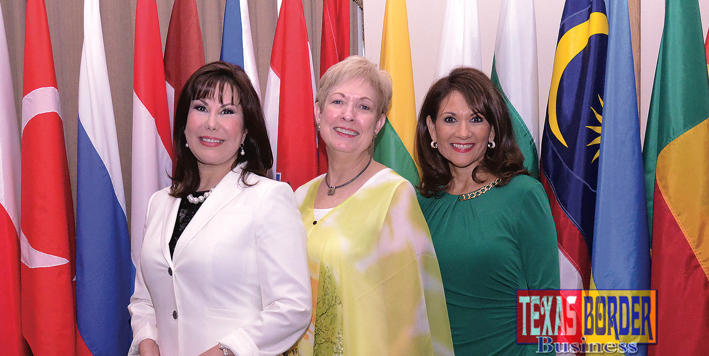 L-R: Letty Garza, Pat Blum and Veronica Gonzales.