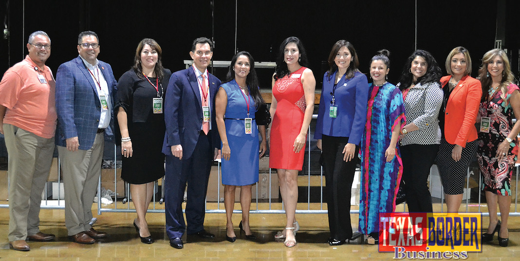 Pictured from L-R: Committee Members: Jerry Jackson, Jaime Tijerina, Andrea Rodriguez, David DeAnda, Claudia Villarreal Gaytan, Michelle Zamora, Gaby Nunnery, Odette McDonald, Lina Cantu, Yolanda Gonzalez and Norma Pena.