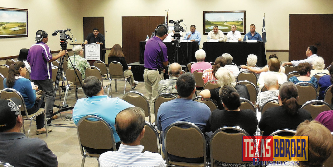 The Weslaco Chamber of Commerce will host a Candidates' Forum on Tuesday, November 11 at the Weslaco Business Visitor & Event Center.