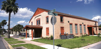 The Old Church Winery is located at 700 N. Main St., McAllen, Texas 78501