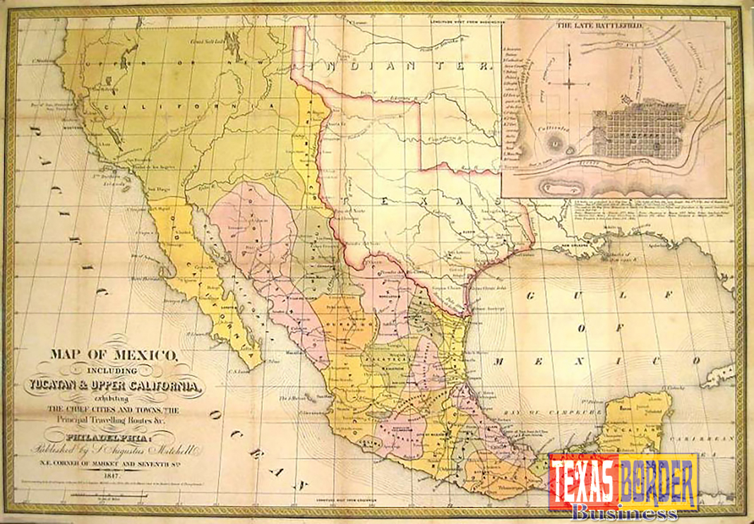 Treaty Of Guadalupe Hidalgo Between MexicoUS Invalid - Us map 1847