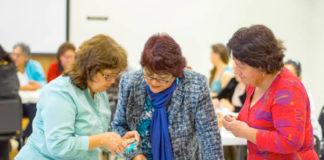 Latina Hope participants learning new skills