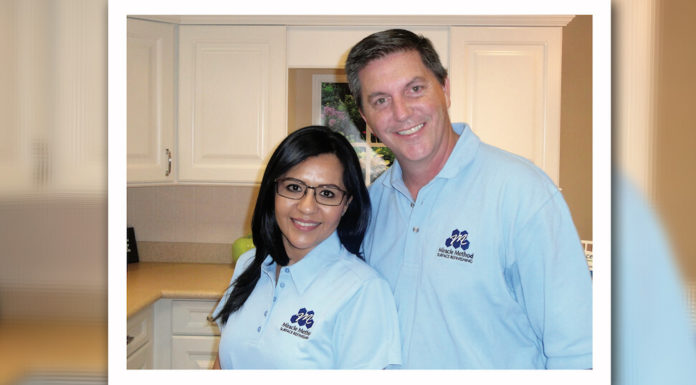 Spencer and Patricia Hansen opened the first Miracle Method in McAllen. The couple decidedto follow their passion in repair work and open this business to provide a new option for McAllen residents.