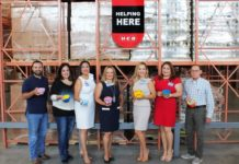 Thank you to H-E-B for becoming sponsors of Whataburger presents Empty Bowls 2017! Pictured: Philip Farias, FBRGV Mgr. of Corporate Engagement & Events; DeAnne Economedes, FBRGV Interim-CEO & COO; Yvonne Loflin, H-E-B Public Affairs Specialist; Linda Martin, H-E-B Border Region Director of Productivity; Linda Tovar, H-E-B Border Region Manager of Public Affairs; Audrey Treviño, H-E-B Coordinator of Public Affairs; and Fred Kingston, FBRGV CFO. For more information, contact Philip Farias, Mgr. of Corporate Engagement & Special Events, by calling (956) 904-4513 or mailto:pfarias@foodbankrgv.com