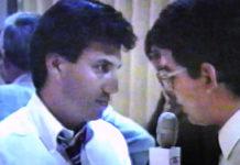 L-R: Hector Uribe and Roberto Hugo Gonzalez