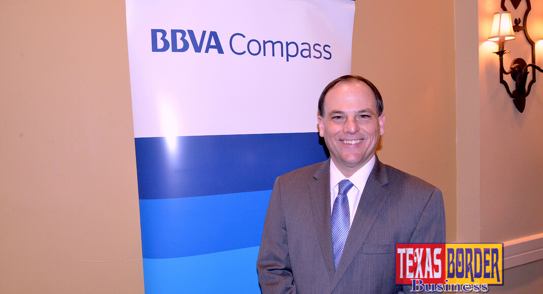 Jon Rebello will oversee border markets such as Laredo, El Paso, and Rio Grande Valley areas, and will act as the Upper Rio Grande Valley City President. The Gulf Coast markets under Rebello will also include Beaumont and Corpus Christi, as well as College Station. Rebello was previously the Lower Rio Grande Valley City President, a position now held by Juan Loya, who was recently promoted. Photo by Roberto Hugo Gonzalez