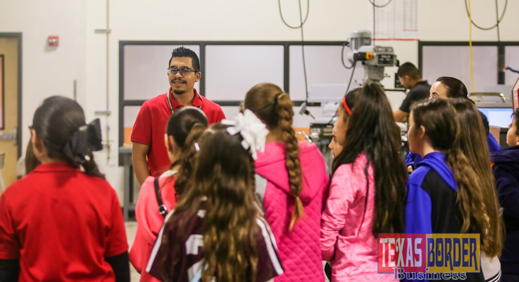 As part of an ongoing effort to promote a college-going culture, the South Texas College Technology Campus hosted a group of more than 70 4th and 5th grade students from John F. Kennedy Elementary School in La Joya on Friday, Jan. 26.