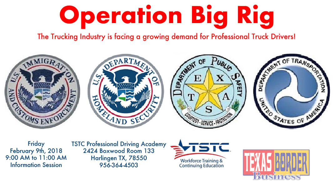 Operation Big Rig - TSTC Professional Driving Academy