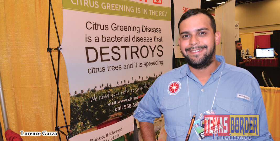 Lorenzo Garza, community outreach specialist for South Texas Citrus Alert