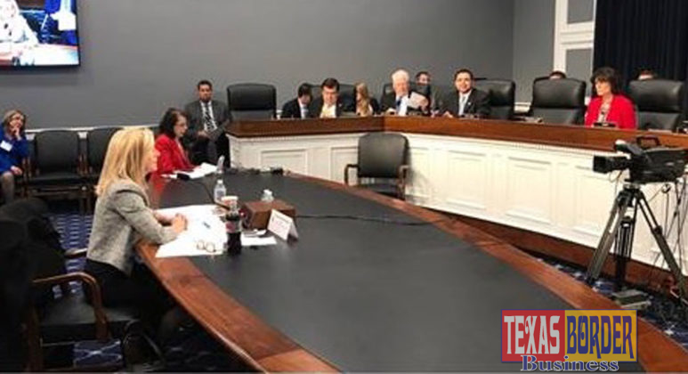 On Wednesday, Congressman Cuellar (TX-28) questions Secretary Kirstjen Nielsen during a House Appropriations subcommittee hearing on the Department of Homeland Security's budget request for fiscal year 2019 in Washington.