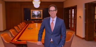 Daniel G. Gurwitz, attorney, in the conference room, of Atlas, Hall & Rodriguez, LLP where he practices law. He is the Chairman of the RGV Partnership in Weslaco, an advocacy group that brings the stakeholders together and magnifies their concerns and needs with influential people in State and Federal positions to bring solutions. Photo by Roberto Hugo Gonzalez