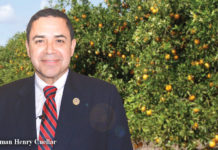 To help Rio Grande Valley farmers battle the scourge of Citrus Greening Disease, Congressman Cuellar advocated for and secured over $65 million for citrus health and the Huanglongbing Multi-Agency Coordination Group operated through the U.S. Department of Agriculture's Animal and Plant Health Inspection Service (APHIS).