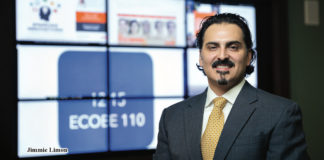 Texas Gov. Gregg Abbott has appointed Harlingen native Jimmie Limon, UTRGV lecturer and assistant to THE MBA director in the Robert C. Vackar College of Business & Entrepreneurship, to the Texas Product Development and Small Business Incubator Board. One of five appointees this year, Limon's term is for five years ending in 2023. The PDSBI provides financing to aid in the development, production and commercialization of new and improved products to foster and stimulate the development of small businesses in the state. (UTRGV Photo by Paul Chouy)