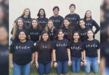 Top Row: Jayden Olson, Andrew Samaniego, Nathan Sanchez, Johnathan Larson, and Mariella Vela. Middle Row: Daniella Ashburn, Selma Regalado, Katheryn Slusher, Andrea Tamez, and Leslie Hernandez. Bottom Row: Jocelyn Gomez, Nayeli Posadas, Sydney Ramon, Vianca Castilleja, and Sophie Resendez. Not pictured: Patricia Rocha, Alejandra Cueva, and Elise Lizka.
