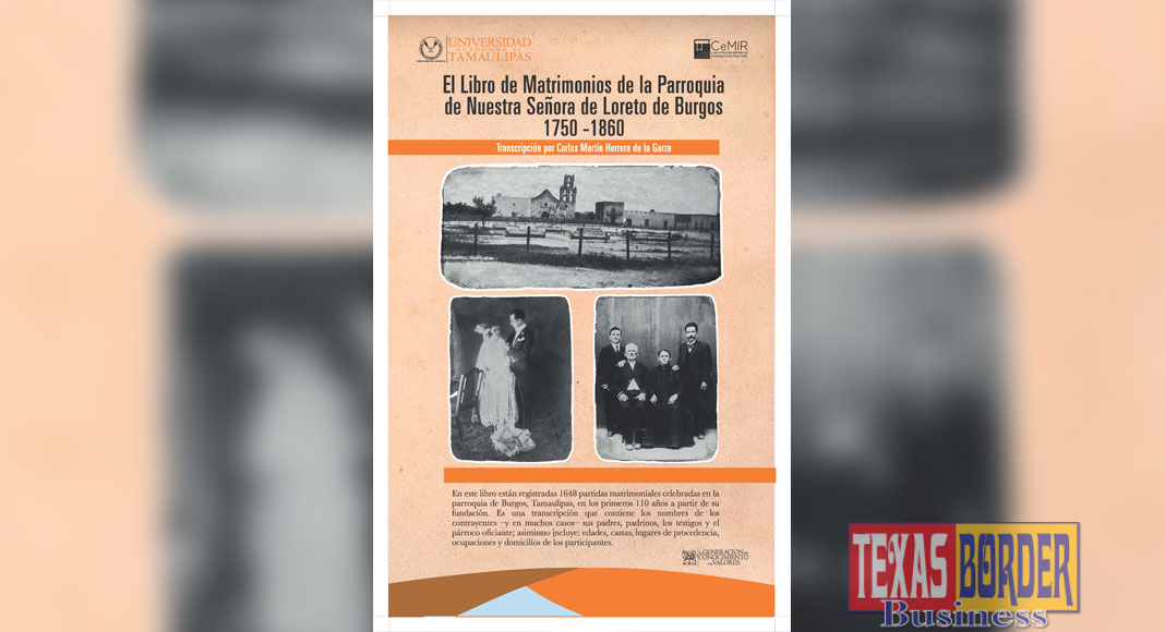 Poster V. Burgos 1: Copies of de la Garza's book will be on sale at the Museum Store May 6.
