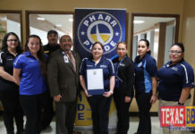 """Public Safety Telecommunicators from the Pharr Police and Fire Communications Centers were recognized by the City Commission and received a proclamation in honor of """"National Telecommunicators Week""""."""