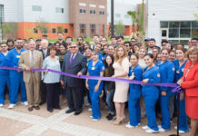 South Texas College (STC) celebrated the opening of numerous facilities at its Starr County Campus on April 5. STC Board of Trustees, staff, and faculty were on hand for the official ribbon cutting of buildings they say will influence the community and students for generations to come.