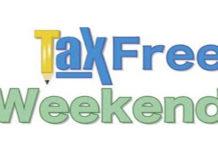 TaxFree Weekend April 28-30, 2018