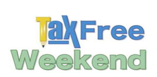 TaxFree Weekend April 28-30, 2018