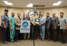 Pharr City Commission awarded Tree City USA designation from Texas A&M Forest Service.