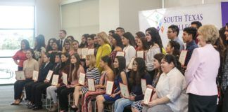 The Early College High School program at South Texas College (STC) hosted its 1st Annual Distinguished Scholars event on May 15, and was held to honor students graduating from Early College High Schools across the Valley and who are ranked No. 1 and No. 2 from their respective class.