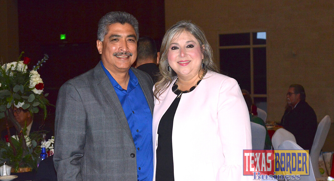 Ellie Torres, Hidalgo County commissioner-elect Precinct 4. She takes over her position January 2019. Next to her, her husband, David Torres Commissioner and Mayor Pro-Tem for the city of Edinburg. Photo by Roberto Hugo Gonzalez