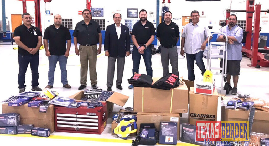 Grainger Industrial Supply recently donated $6,000 worth of tools to assist students in their career choices.