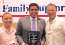 """Hidalgo County District Attorney Ricardo Rodriguez Jr. was recently honored at the 24th Annual South Texas Family Support Conference on South Padre Island. He was the recipient of the 2018 """"La Luna"""" Award, which recognizes the contributions of an individual in promoting mental health and developmental disability services in the South Texas area."""
