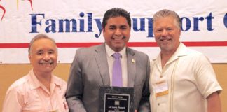 "Hidalgo County District Attorney Ricardo Rodriguez Jr. was recently honored at the 24th Annual South Texas Family Support Conference on South Padre Island. He was the recipient of the 2018 ""La Luna"" Award, which recognizes the contributions of an individual in promoting mental health and developmental disability services in the South Texas area."