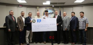 City Presents $40,000 To Affordable Homes Of South Texas, Inc. To Help Pharr Families Affected By Flood
