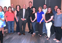Dave & Buster's recognizes top McAllen ISD teachers of the year. Leadership of the ISD were also present. They enjoy great dinner and played games all courtesy of Dave & Busters. Photo Roberto Hugo Gonzalez