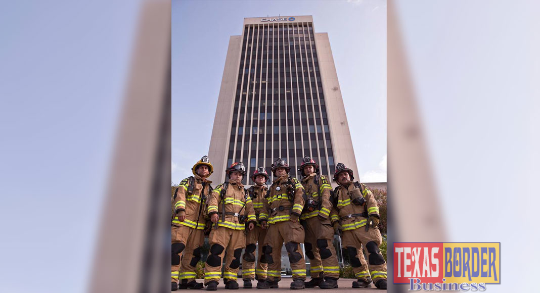 McAllen Stair Climb event to be held September 9th at 7:45 AM at the Neuhaus Tower located at 200 S. 10th ST in McAllen. The event is held in remembrance of the 343 firefighters that perished on 9/11.  The event begins with a 9/11 memorial ceremony.  Shortly after, 343 participants climb a total 110 stories which was the height of the World Trade Center Towers. The memorial ceremony is open to the public but participants who are climbing must register online at www.mcallenstairclimb.com.