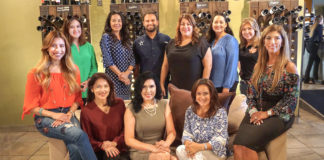 Pictured: The Empty Bowls Committee would like to thank all Avocado level and above sponsors of Empty Bowls 2018 Presented by Vantage Bank Texas and Inter National Bank! Front row: Olivia Lemus, Gabriela Nunnery, Michelle Zamora, Chair; Laura Gutierrez, and Norma Guevara. (top row) DeAnne Economedes, FBRGV Interim-CEO & COO, Claudia Villarreal Gaytan, Philip Farias, Andrea Cavazos Rodriguez, Co-Chair; Linda Guerrero Deicla and Jackie Flores. For more information, contact Philip Farias, Mgr. of Corporate Engagement & Special Events, by calling (956) 904-4513 or pfarias@foodbankrgv.com.