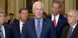 Cornyn: Treat Dr. Ford the Same As Our Daughters