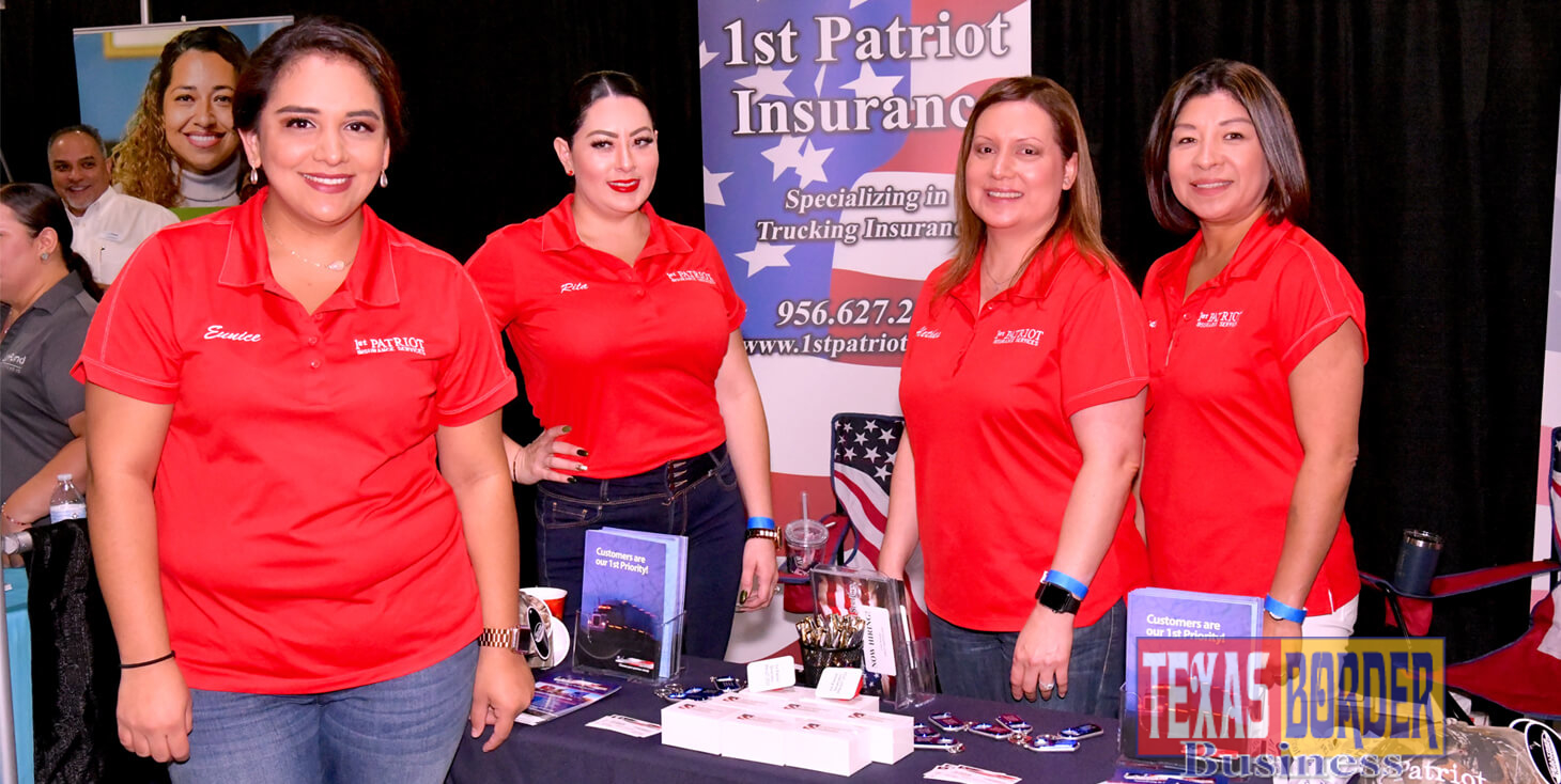 Eunice Castor, customer representative for 1st Patriot Insurance in Pharr. Photo by Roberto Hugo Gonzalez