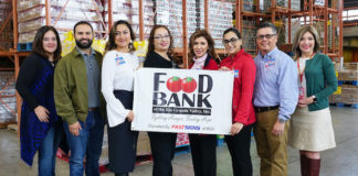 DeAnne Economedes, Interim CEO & COO; Philip Farias, FBRGV Manager of Corporate Engagement; Yvonne Loflin, H-E-B Senior Public Affairs Specialist, Border Region; Monica Trevino, Show-time Lead; Nidia Lane, Admin for San Juan Store; Anabelly Mata, SORL; Henry Torres, Food Leader San Juan; and Jacqueline Flores, FBRGV Director of Development & Donor Services.  For more information, contact: Jackie Flores, Director of Development & Donor Services, at (956) 904-4545, mailto:jflores@foodbankrgv.com or Philip Farias, Mgr. of Corporate Engagement & Events, by calling (956) 904-4513 or mailto:pfarias@foodbankrgv.com