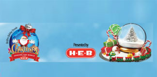 Proud sponsors of the McAllen Holiday Parade, presented by H-E-B, include Bert Ogden and Fiesta Dealerships and Budweiser.