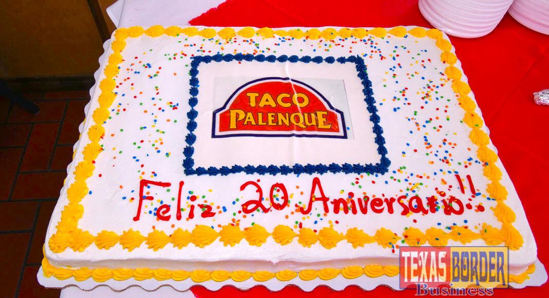 Taco Palenque 20 aniversario
