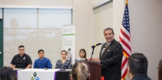 Student Government Association at South Texas College hosted Texas Sen. Eddie Lucio Jr. at a town hall-style event Oct. 18. Lucio used the opportunity to speak on the importance of voting ahead of Election Day on Nov. 6.