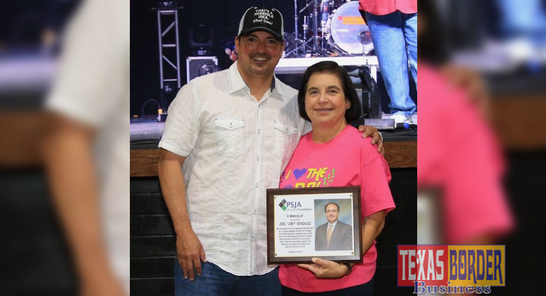 The PSJA Education Foundation's 6th Annual Concert was dedicated in remembrance offormer President Joel