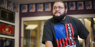 STC's commitment to South Texas veterans encompasses a wide range of services, both in and out of the classroom. Enrique Cervantes, STC student and veteran acknowledges the college's dedication to helping military families.