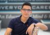 STC student Austreberto Gomez says his initial work experience at a factory in Reynosa shaped his future in Information Technology