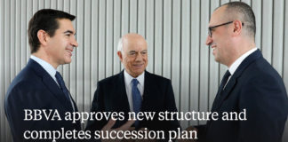 Pictured above from L-R: Carlos Torres Vila, CEO; Francisco Gonzalez, and Onur Genç.