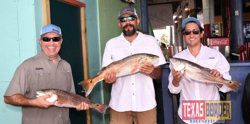 Ramiro Garza, Juan Garza, and Eric Delgado, from Team Noble